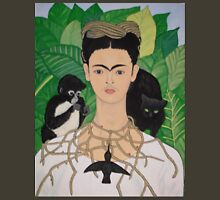Frida with Monkey and Cat T-Shirt