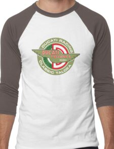 Retro Ducati Racing Men's Baseball ¾ T-Shirt