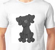Black Lab - The Dog Table Unisex T-Shirt