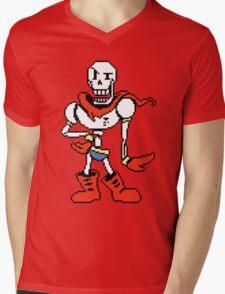 Papyrus Undertale Mens V-Neck T-Shirt