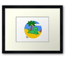 Triceratopless (image only) Framed Print