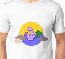 Skinny Diplodocus (image only) Unisex T-Shirt