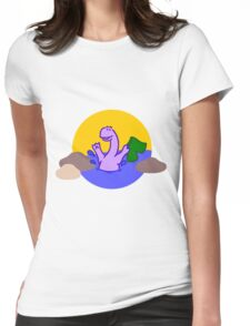 Skinny Diplodocus (image only) Womens Fitted T-Shirt