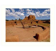 Pecos, New Mexico Art Print