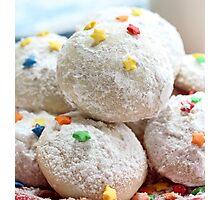 Snowball cookies Photographic Print