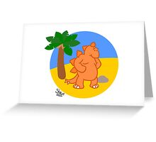 Stegostarkers (image only) Greeting Card
