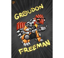 Groudon Freeman Photographic Print