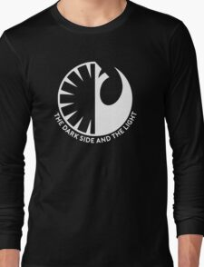 The Dark Side and the Light Long Sleeve T-Shirt