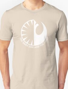 The Dark Side and the Light Unisex T-Shirt