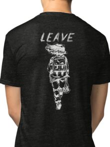 MISFIRED EMOTION // LEAVING Tri-blend T-Shirt