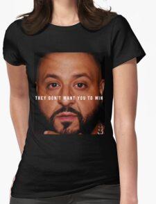 DJ Khaled - Win Womens Fitted T-Shirt
