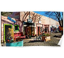 Colorful Madrid, New Mexico Poster