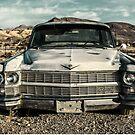 abandoned car near death valley by wulfman65