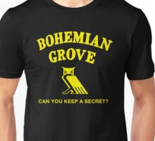 Bohemian Grove Secret Unisex T-Shirt