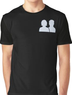 Facebook Friends Graphic T-Shirt