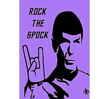 Rock The Spock Photographic Print