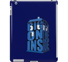 Its Bigger on the Inside!! iPad Case/Skin