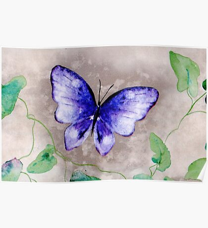 Butterfly Whimsy Poster