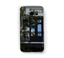 Elegant Tropical Balcony - the Beautiful Colonial Architecture of Old San Juan, Puerto Rico Samsung Galaxy Case/Skin