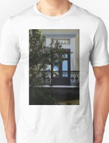 Elegant Tropical Balcony - the Beautiful Colonial Architecture of Old San Juan, Puerto Rico Unisex T-Shirt