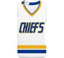 Charlestown Chiefs Home Jersey iPhone Case/Skin