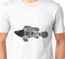 Authentic Aboriginal Art - Fish Unisex T-Shirt
