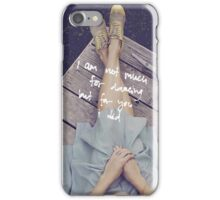 NOT MUCH FOR DANCING iPhone Case/Skin