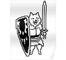 Undertale - Lesser dog Poster