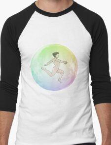 Leave your Bubble (Eastern Asian) Men's Baseball ¾ T-Shirt