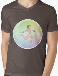 Leave your Bubble (Brunette) Mens V-Neck T-Shirt