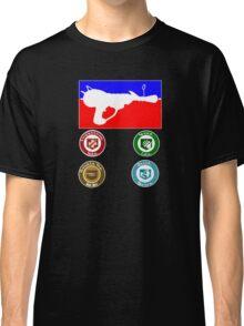 Zombie Ray Gun Classic T-Shirt