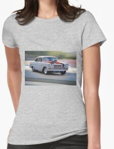 1956 Chevrolet 'All Business' Coupe Womens Fitted T-Shirt