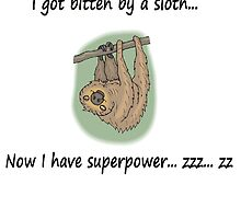 Sloth Superpower Bite by Sauropod8