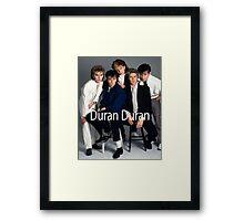 Vintage Duran Duran - bima Framed Print
