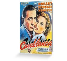Movie Poster Merchandise Greeting Card