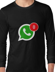 WhatsApp Messages Long Sleeve T-Shirt
