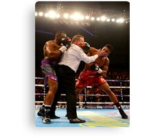 Anthony Joshua Dillian Whyte Referee Fail Canvas Print