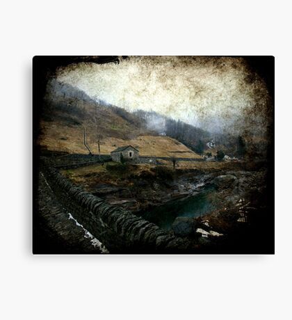 A Cold Day Canvas Print