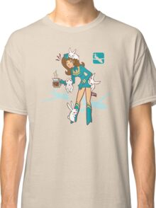 Köpke Chara Collection - Coffee Flight Attendant Classic T-Shirt
