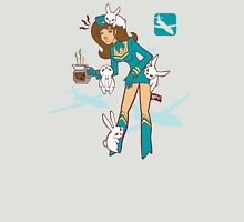 Köpke Chara Collection - Coffee Flight Attendant Unisex T-Shirt