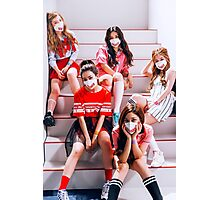 RED VELVET DUMB DUMB poster Photographic Print