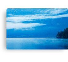 Morning at Lake Bohinj in Slovenia Canvas Print
