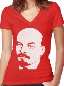 Vladimir Illich Women's Fitted V-Neck T-Shirt