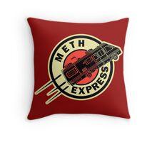 Meth Express Throw Pillow