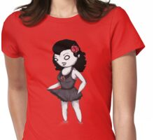 Plushie Page Womens Fitted T-Shirt