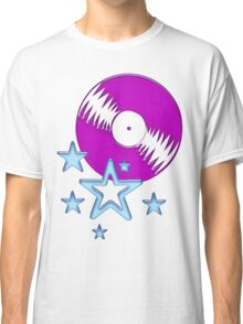 party - sky, star, music, disco, funny Classic T-Shirt
