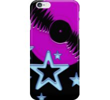 party - sky, star, music, disco, funny iPhone Case/Skin