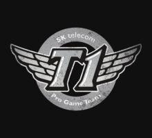 SKT T1 Vintage Logo (best quality ever) by Datsik