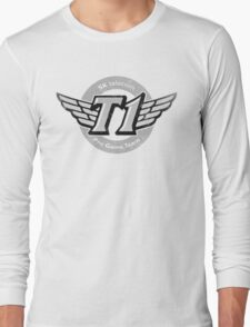 SKT T1 Vintage Logo (best quality ever) Long Sleeve T-Shirt
