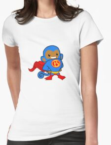 Super Monkey Womens Fitted T-Shirt
